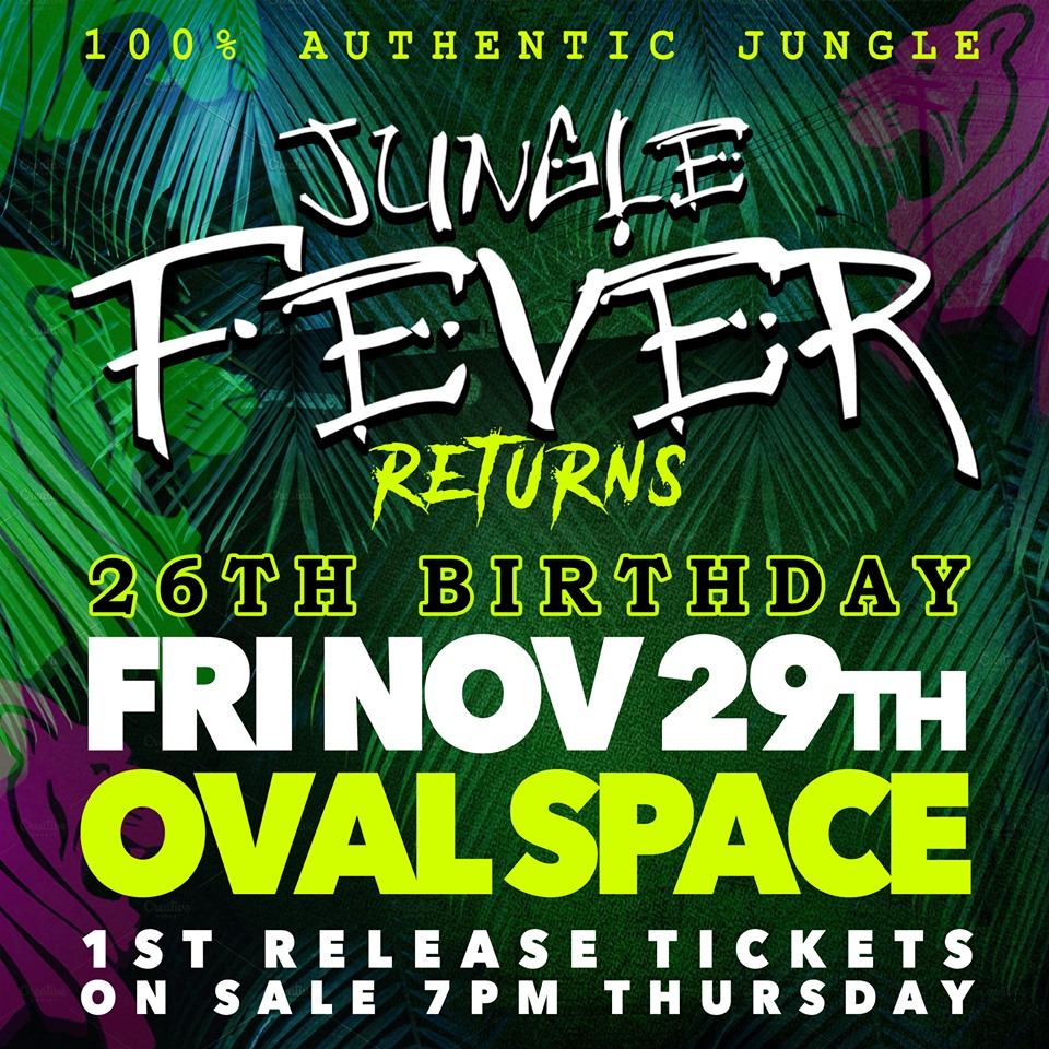 Jungle Fever 26th Birthday & Kool 28th Birthday